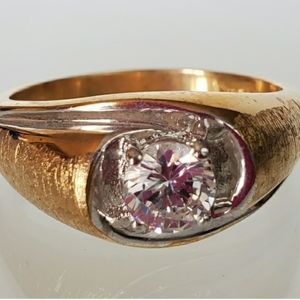 Other - Two tone gold and silver Cocktail Ring
